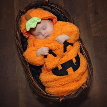 Newborn Baby Halloween Winter Warm Sleeping Bags Infant Zipper Knit Blanket Swaddle Wrap Stroller Wrap Toddler Blanket Sleeping(China)