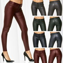 ZOGAA Women PU Leather Pants Ladies Sexy Skinny Tight Trousers Female Solid Slim Biker Art Pencil 2019 New