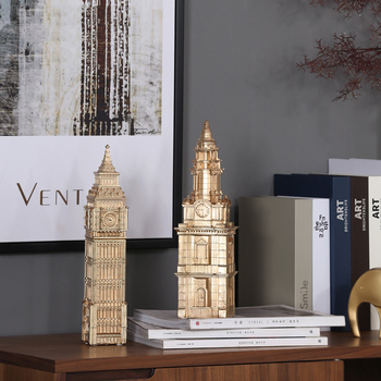 North Decoration St Paul S Cathedral London Elizabeth Tower Architectural Model Living Room Office Home Soft Decorations