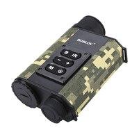 Boblov LRNV009 200M IR visión nocturna 500M buscador de alcance 6 xzoom óptico telémetro infrarrojo multifunción para caza juego al aire libre|Cámaras de vigilancia| |  -