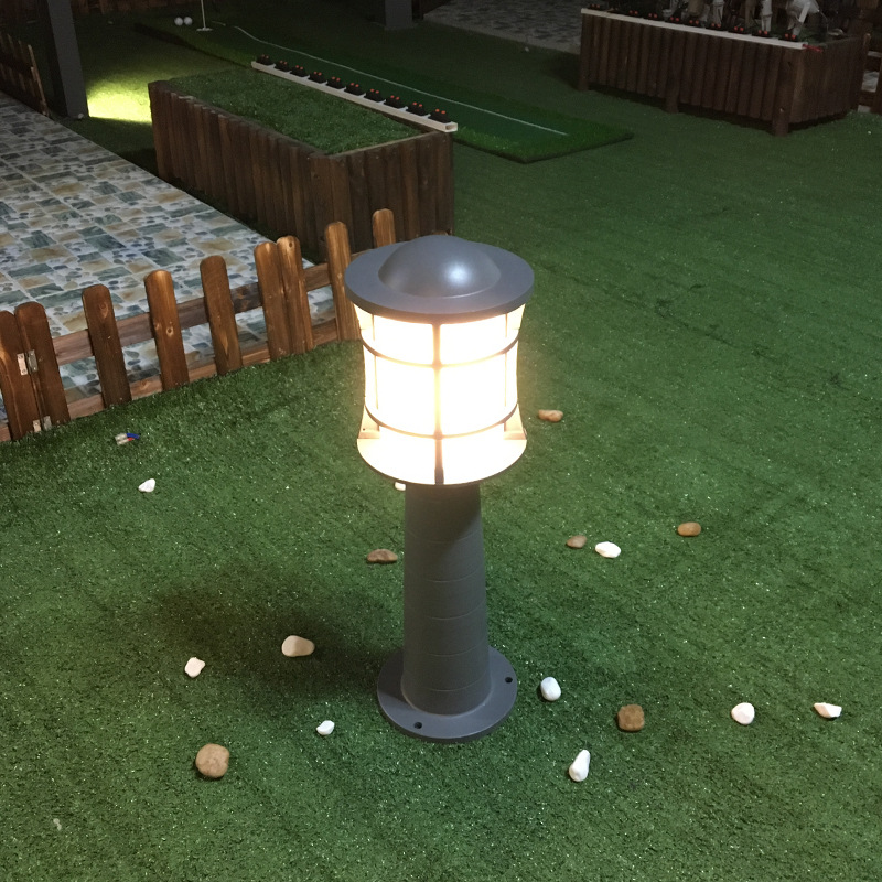 Wholesale Quality-Outdoor Park Garden Outdoor High Waterproof Lawn Lamp IP65 Thick Material LED Die-Cast Aluminum Case