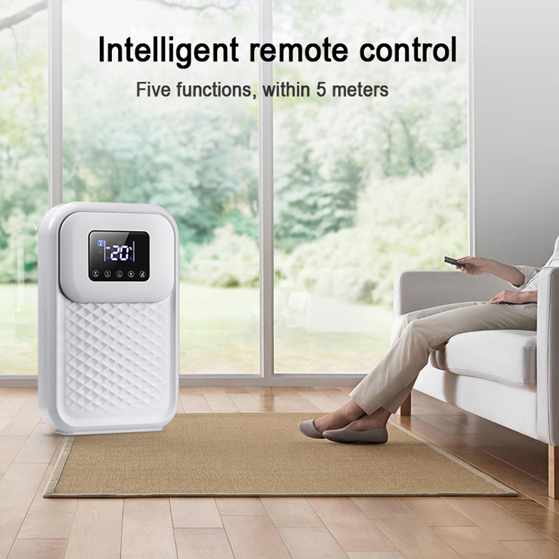 Intelligent Dehumidifier Dryer Air Purification Household Moisture Absorber Bedroom Basement LED Smart Touch Remote Control