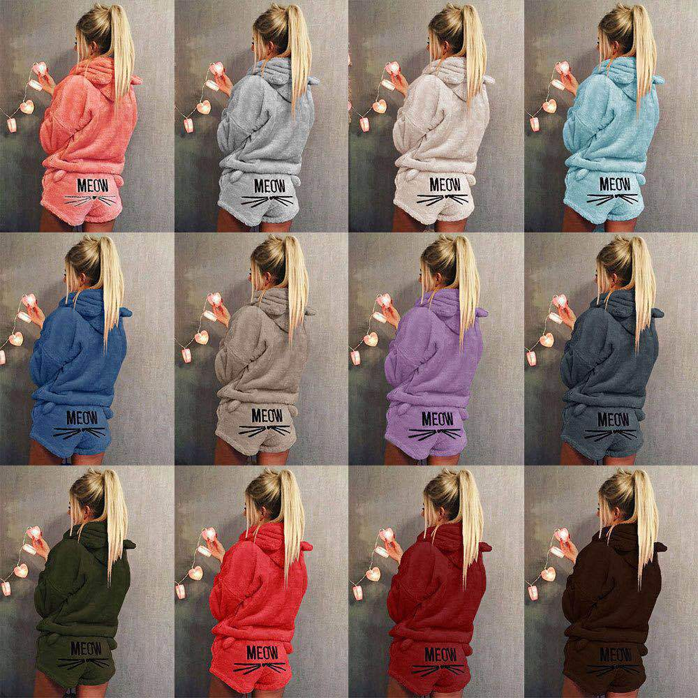 Pajama Set For Women Sexy Sleepwear Pyjama Femme Home Wear Pijama Plus Size Warm Pyjamas XL XXL XXXL 4XL 5XL Winter Home Suit