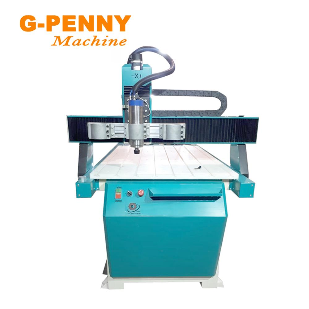 Купить с кэшбэком G-PENNY 800W CNC Spindle Motor 0.8KW Water Cooling Cooled Spindle 24000RPM 65X195mm & 65mm Bracket Clamp on CNC Milling Machine