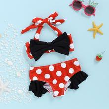 Toddler Infant Baby Girls Swimwear Swimsuit Swimming Beach Bathing Bikini Cute Summer Two-piece Swimming Baby Swimsuit toddler kids swimsuit cute baby girl swimwear one piece with fruit pattern 3 10y girls swimsuit kid children swimming suits