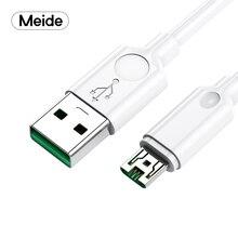 Meide 2 м 5А микро USB кабель Быстрая зарядка микро зарядное устройство шнур для samsung htc XiaoMi Мобильный телефон микро USB кабель 5ASuper зарядное устройство