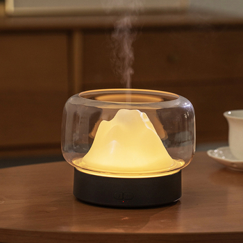 Aroma Lamp Electric Incense Burner Mute Ultrasonic Air Humidifier Incense Holder Bruleur Encens Bedroom Aroma Oil Burner MM60XXL