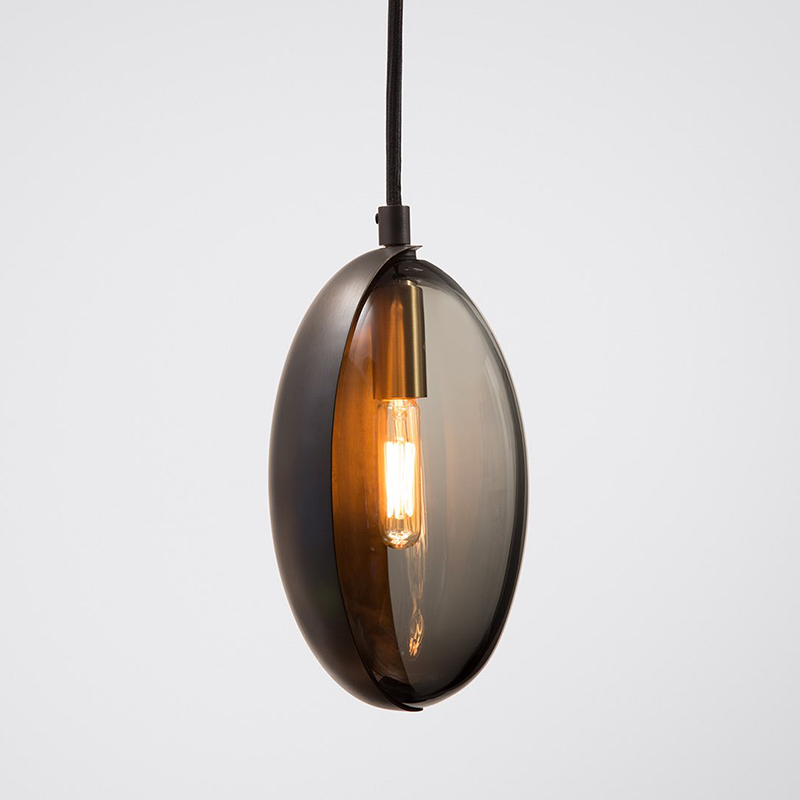 French Luxury Gold Led Pendant Lights Modern Deco Glass Industrial Pendant Lamp Bedroom Kitchen Hanglamp LuminariaLight Fixtures