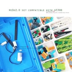 2019 New Technic Wedo 2.0 Robotics Construction Set Building Blocks Compatible With Wedo 2.0 Educational Diy Toys
