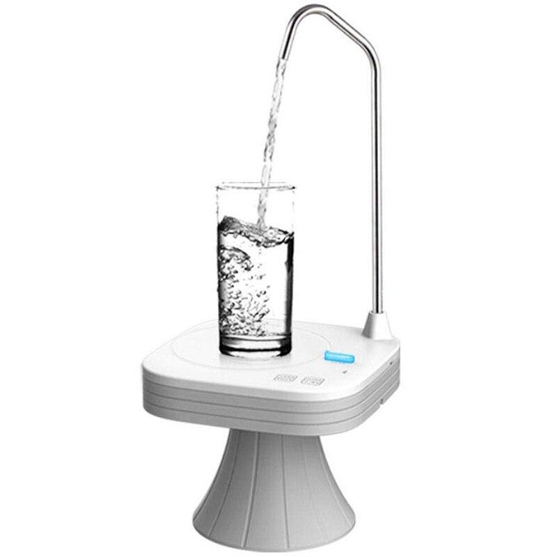 إبريق ماء مضخة موزع ، التلقائي الكهربائية الشرب موزع مياه مضخة مع علبة قابلة للإزالة ل 1-5 جالون زجاجة ، BPA-Free & H