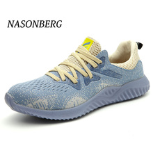 NASONBERG Puncture Proof Safety Shoes Work Boots Construction Mens Outdoor Steel Toe Cap Men