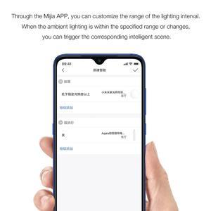 Image 2 - Xiaomi Mijia חכם בית אור חיישן 0 ~ 83000 lux Zigbee 3.0 אור צג עבודה עם Xiaomi Multimode ZigBee 3.0 gateway