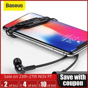 Image 1 - Baseus S06 tour de cou Bluetooth écouteur sans fil écouteurs pour Xiaomi iPhone écouteurs stéréo auriculares fone de ouvido avec micro