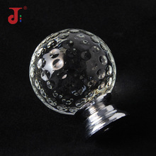 High Quality Crystal Golf Ball Knobs Single Hole Crystal Ball Handle For Furniture Cabinet Drawer Handle Wardrobe Door Handle стоимость