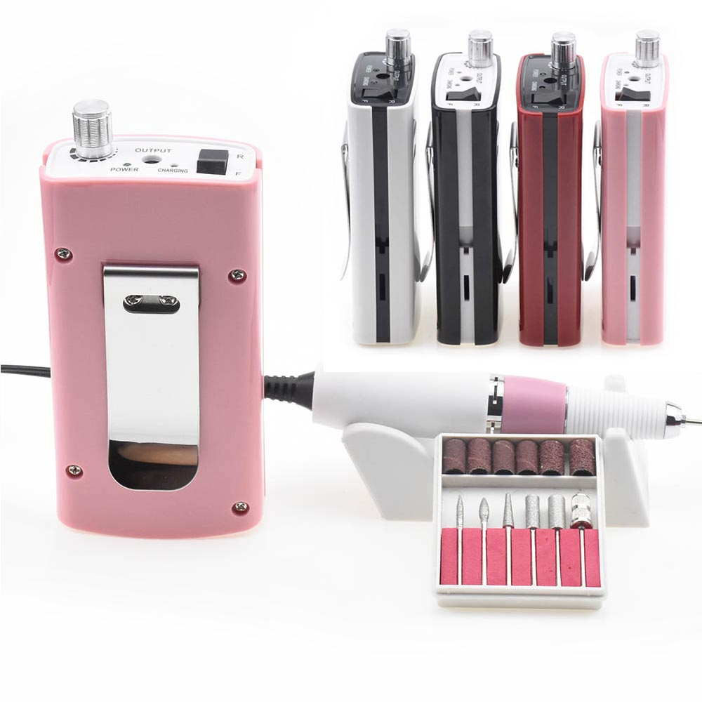 18W 30000RPM Nail Drill Manicure Machine Acrylic Electric Manicure Apparatus Portable Nail Art Equipment Decorations For Nails