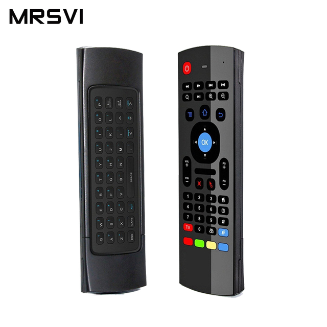 MX3 2.4GHZAir Mouse Keyboard Remote Controller Wireless Gaming Mouse New Arrival  For Android TV Box IPTV