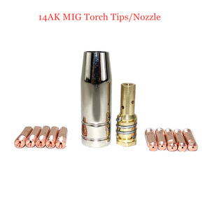 Image 5 - Valve Integrated 15AK MIG Welding Torch MIG Torch MAG Welding Gun Air Cooled 14AK Torch