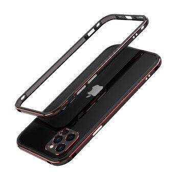 For iPhone 12 /12 Pro/12 Pro Max Mini /11 Pro Max 11 Aluminum metal bumper Frame Slim Cover phone case+ carmera Protector 15