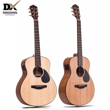 China guitarra Professional Acoustic guitar 36 inch Baby travel Spruce top Solid Wood musical Stringed instruments steel strings high quality 39 acoustic classical guitar wood color guitarra musical instruments with guitar strings