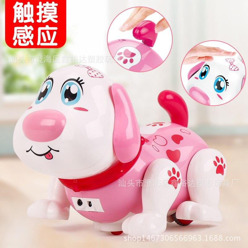 Goldman Xiao Ke Pet Ben Gou Children Smart Touch Sensitive Singing Dancing Multi-functional Robot Dog Toy