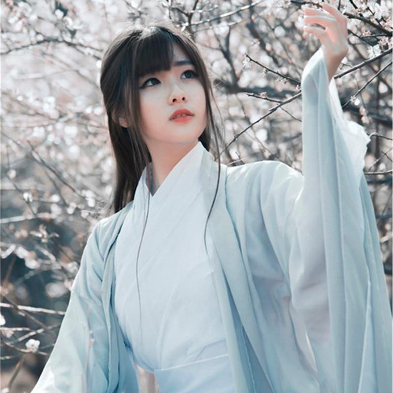Çin geleneksel halk dans kostümü kadınlar antik Hanfu elbise oryantal tarzı Tang hanedanı dans giyim kız peri Cosplay