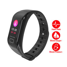 Blood Pressure Monitor wrist tonometer Blood oxygen monitor Pulsometer Heart Rate Monitor Pedometer Smart Wristband watch цена