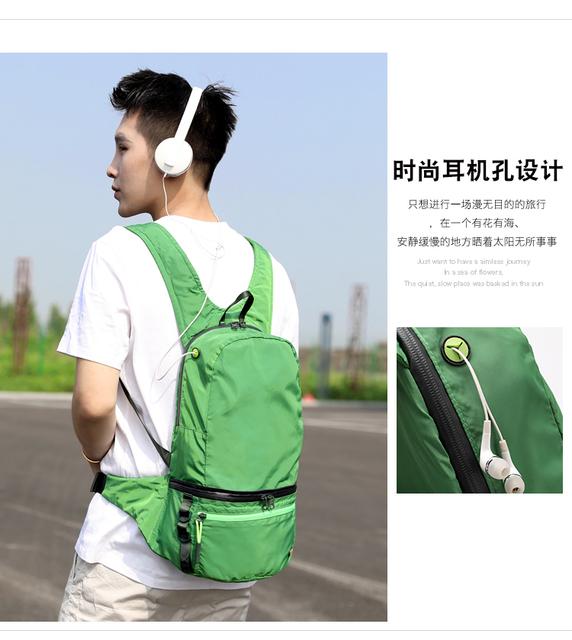 Yinjue waist bag Backpack men women Casual Sport knapsack multi-function travel Ultra light nylon outdoor Messenger Chest Bag