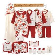 Newborn Baby Clothes Set Soft Cotton Newborn Infant Boys Girls Clothes Spring Summer Baby Clothes Suit Newborn Baby Gift