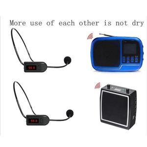 Image 5 - Portable FM Wireless Microphone Headset Megaphone Radio Mic For Loudspeaker For Teaching Tour Guide Meeting Lectures