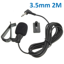 Clear Microphone Output 3.5mm Microphone Car Radio Stereo GPS Bluetooth Enabled