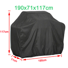 Portable Waterproof BBQ Grill Barbeque Cover Outdoor Rain For Gas Charcoal Electric  Home Supplies