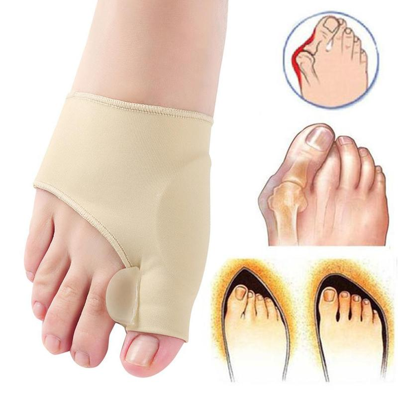 Bunion Corrector Hallux Valgus Foot Pedicure Sock Bone Thumb Toe Separators Correction Splint Foot Straightener Updated Version