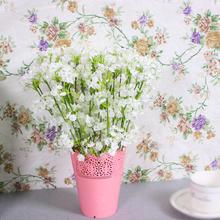 40cm sztuczne sztuczne kwiaty kwiat jedwab biały łyszczec bukiet Babysbreath sztuczne kwiaty wesele strona główna Decoraion tanie tanio Artificial Gypsophila Z tworzywa sztucznego Bukiet kwiatów Ślub