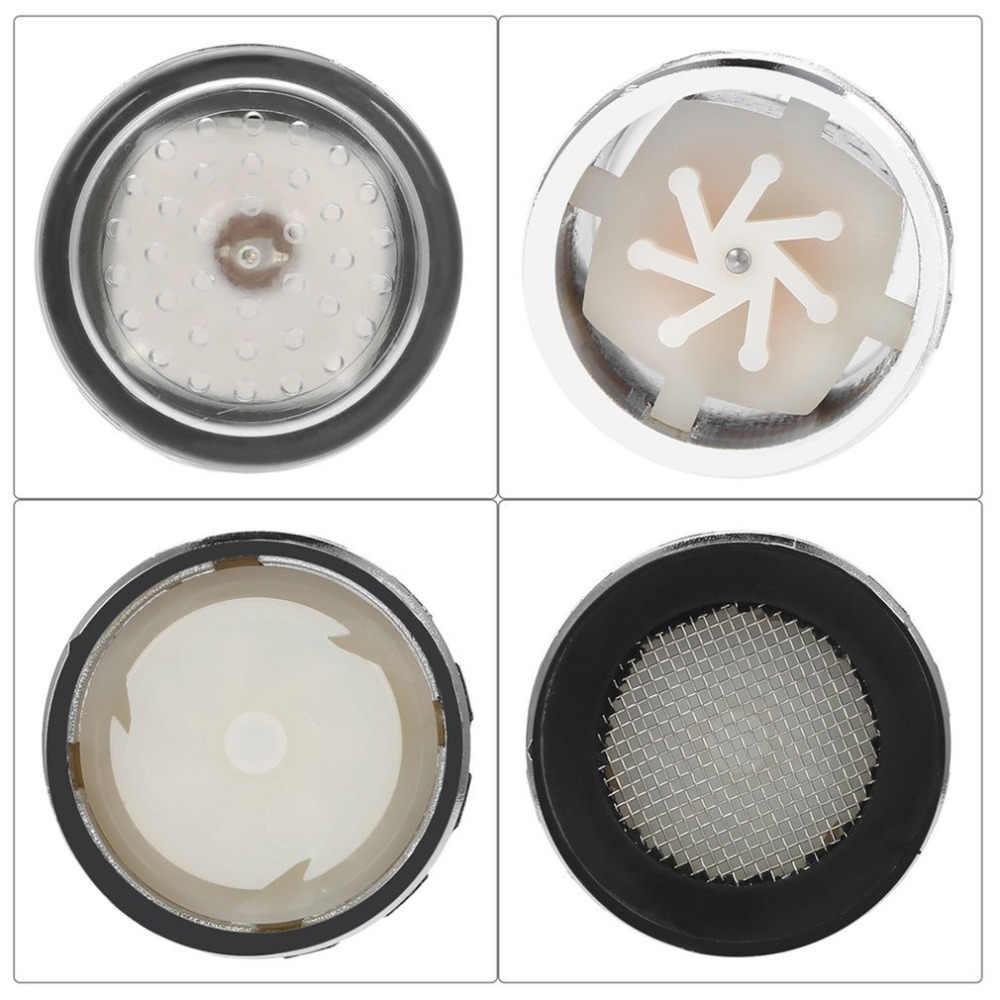3 צבע LED אור שינוי ברז מקלחת מים ברז טמפרטורת חיישן אין סוללה ברז זוהר מקלחת שמאל בורג מטבח גופי
