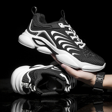 2020 Light Running Shoes Breathable Comfortable Air Mesh Lace-Up Jogging