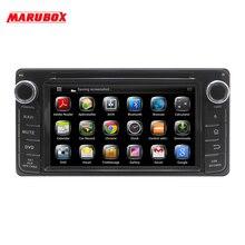 """Marubox KD-6220 Универсальный 6,"""" Автомобильный мультимедийный плеер для Toyota, Daihatsu 200x100 мм gps Навигация стерео радио, DVD"""
