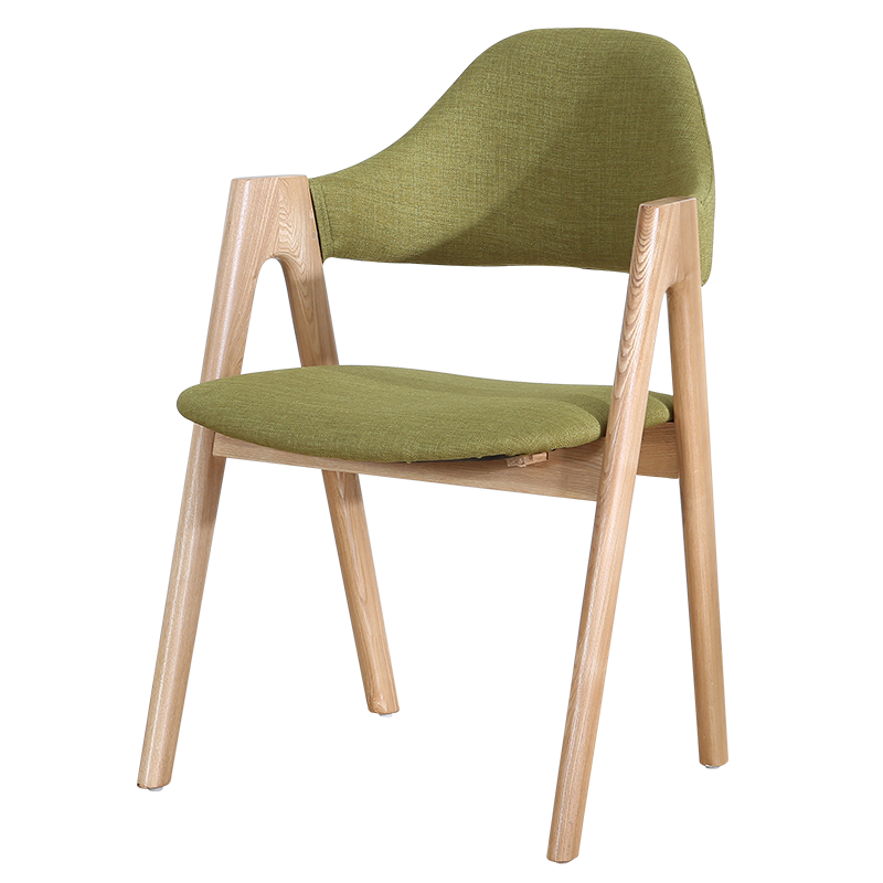 Nordic solid wood dining chair home back stool modern minimalist office book  hotel restaurant net red  ins