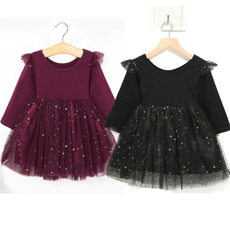 Child Kid Girl Bowknot Flower Print Princess Sleeveless Formal Clothes Dresss TS