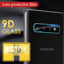 9D Clear Lens Tempered Glass For Samsung Galaxy S10 S8 S9 Plus A6 A8 J4 J6 Plus J7 J8 2018 Note 9 8 10 Pro S10e A8 A9 Star A6S(China)