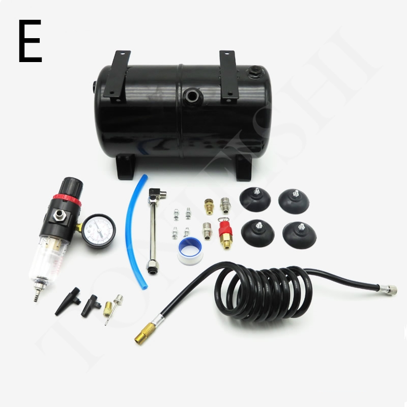 Image 5 - AS18B AS186 Model Air Pump Air Storage Tank Air Compressor Spray Pump 3.5L 4 Holes Air TankTool Parts   -