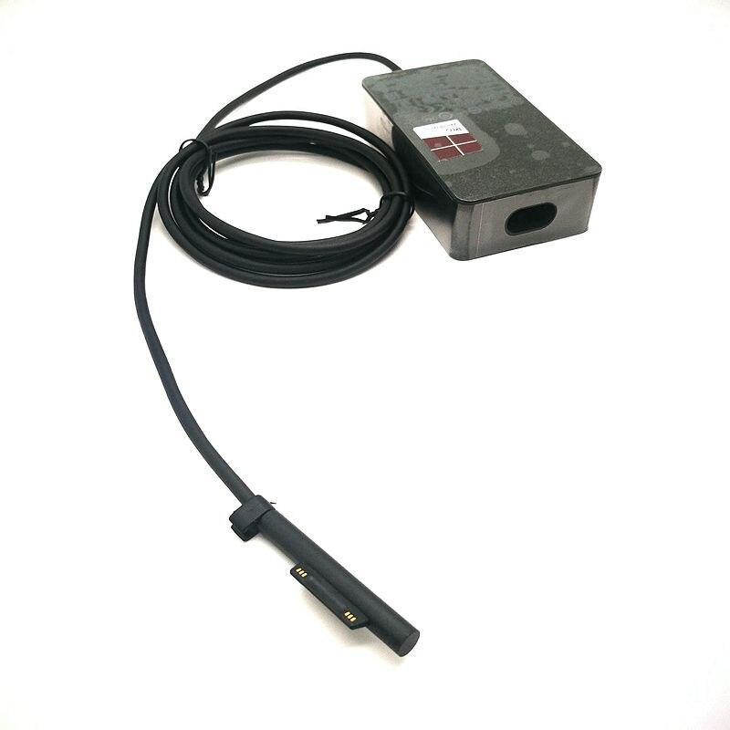 15 v 2.58a para microsoft nova superfície pro5  6 portátil adaptador de energia 1800 1796 44 w carregador