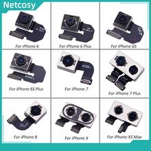 Netcosy duży aparat tylna kamera tylna kamera moduł Flex Cable część zamienna do iPhone 6 6 Plus 6S 6S Plus 7 7 Plus 8 X XS MAX tanie tanio CN (pochodzenie) Apple iphone ów IPHONE X For iPhone series Rear Camera For iPhone 6 6 Plus 6S 6S Plus 7 7 Plus 8 X XS MAX