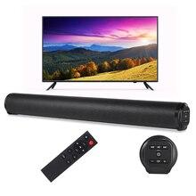 Портативная Беспроводная колонка, звуковая колонка Bluetooth, мощный 3D Музыкальный звуковой бар для домашнего кинотеатра, Aux 3,5 мм, TF для ТВ-ПК