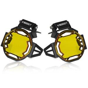 Image 4 - Motorcycle Flipable Fog light Protector Guard Lamp Cover For BMW K1600GT K 1600GT K1600GTL K1600 GTL K1600B Fog Light Lamp Cover
