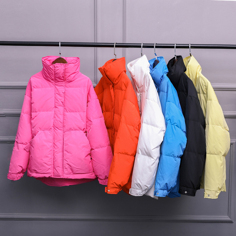 2019 Winter Women Jacket Short   Down   Parkas White Duck   Down   Jacket Female Women   Down     Coat   High Quality Thick Warm Loose Outwear