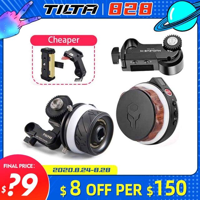 Tilta Tiltaing Mini Matte Box для зеркальной камеры DSLR, беззеркальной камеры s FF T06, Новый мини двигатель Follow Focus, Tilta Nucleus N Nano для камеры
