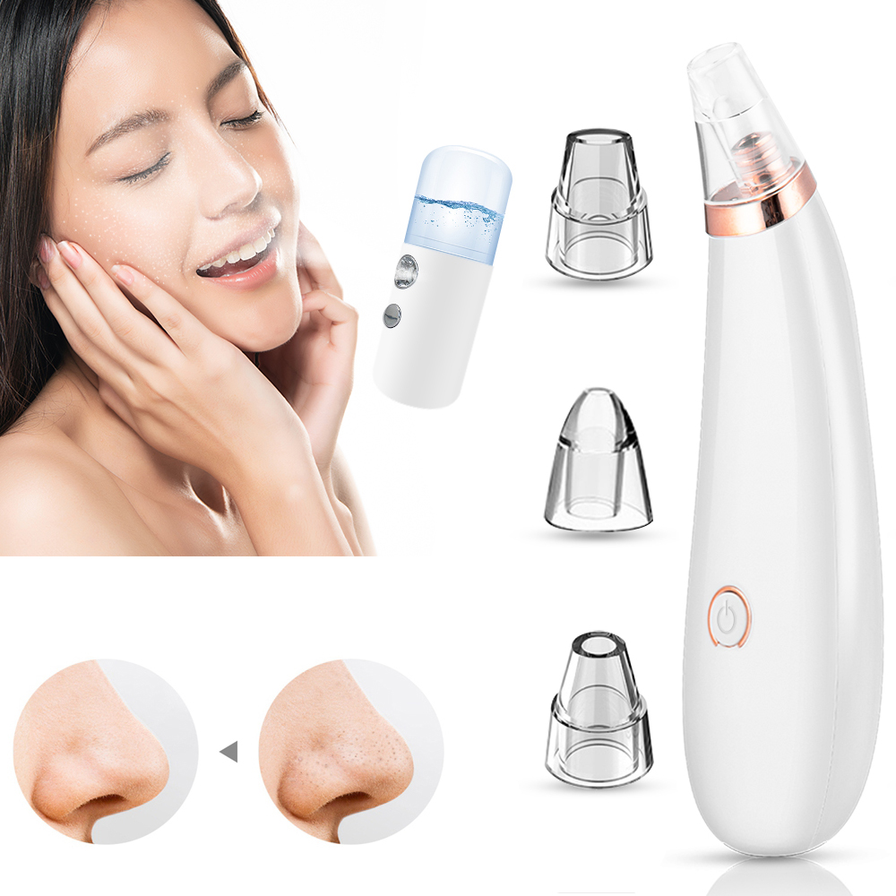 Blackhead Remover Vacuum Pore Cleaner Acne Clean Exfoliating Cleansing Face Facial Instrument Comedones Remover Face Skin Care