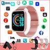 2021 גבירותיי חכם שעון נשים גברים Smartwatch עמיד למים כושר צמיד Bluetooth אלקטרוניקה שעון עבור אנדרואיד IOS חכם שעון