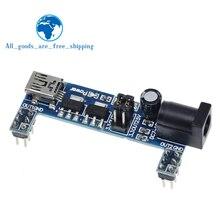 MB102 Breadboard Power Supply Module DC 3.3V 5V For Arduino Solderless Mini USB Power Supply Compatible Bread board MB-102