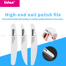 Sand-Paper Nail Buffer-Strips Pedicure Nail-Art-Tool Polishing-Manicure-Sponge-Block